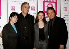 Marlene Dermer, Ricardo Preve, Mia Maestro and Edward Jams Olmos Royalty Free Stock Images