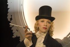 Marlene Dietrich Imagen de archivo libre de regalías