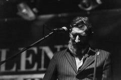 Marlene Kuntz ζωντανό στη λέσχη Μπέργκαμο 27-01-2017 μουσικής Druso Στοκ Εικόνες