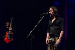 Marlene Kuntz ζωντανό στη λέσχη Μπέργκαμο 18-01-2017 μουσικής Druso Στοκ Εικόνες