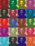 Marleyportretten van het loodje Royalty-vrije Stock Fotografie