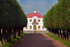 Marli. Peter the Great summer �Marli� residence in Peterhof Royalty Free Stock Photography