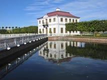 Marli palace, Petergoph Royalty Free Stock Photos