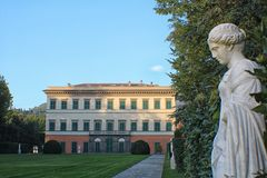 Marlia - Landhaus Reale Lizenzfreies Stockbild