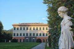 Marlia - villa Reale Royaltyfri Bild