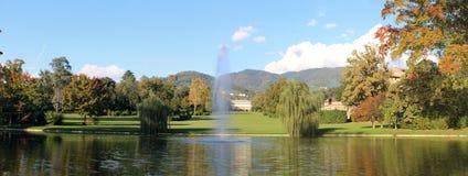 Marlia - willa Real - ogródy Zdjęcie Royalty Free