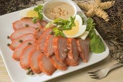 marlin ψαριών πιάτο Στοκ Φωτογραφίες