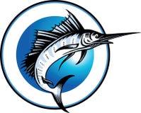 Marlin Illustration de Vecteur