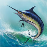 Marlin azzurro Fotografia Stock Libera da Diritti