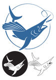 Marlin Fish ilustração royalty free