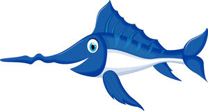 Marlin fish cartoon Stock Photo