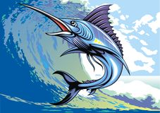 Marlin fish Royalty Free Stock Photography