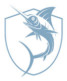 Marlin Fish Tattoo Stock Photo