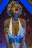 Marlin Monroe wosku postać Fotografia Stock