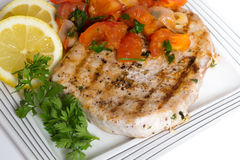 Marlin och salsa Arkivfoto
