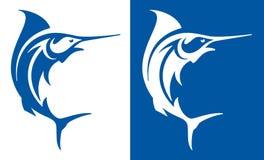 Marlin ryba royalty ilustracja