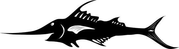 Marlin wektor Fotografia Royalty Free