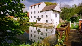 Marlingford watermill. Stock Photography