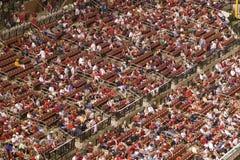 Marlins de la Floride contre des cardinaux de St Louis Image stock