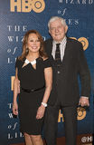 Marlo Thomas and Phil Donahue. Retired pioneering talk show host Phil Donahue is joined by tv personality Marlo Thomas as they arrive for the premiere of HBO` Royalty Free Stock Photo