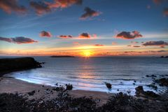 Marloes海滩Pembrokeshire 免版税库存照片