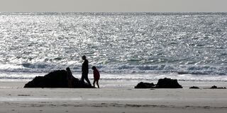 Marloes Sands Stock Images