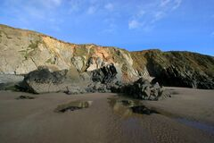 Marloes Sands Stock Photo