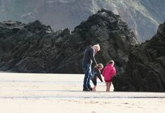 Marloes Sands Royalty Free Stock Photo