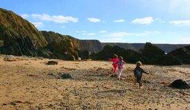 Marloes Sands Royalty Free Stock Photography