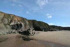 Marloes Sands Stock Image