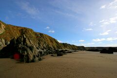 Marloes Sands Royalty Free Stock Photos