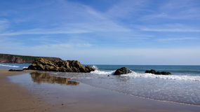 Marloes sands beach in Pembrokeshire Stock Images
