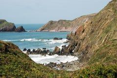 Marloeszand, Pembrokeshire Stock Foto's