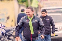 Marlon Guevara, Chodzi Na ulicach Banos Fotografia Royalty Free