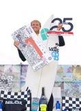 Marlon Lipke: winner of Pantin Classic 2012 (4). VALDOVINHO, SPAIN - SEPTEMBER 16: Marlon Lipke: winner of the 25th edition of Cabreiroa Pantin Classic Pro in Royalty Free Stock Images
