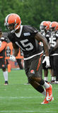 Marlon Moore #15 WR Cleveland Browns Stock Photos
