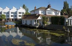 Marlow на реке Темзе Стоковая Фотография