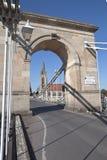 Marlow bridge in England Stock Images