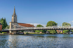 Marlow bridge Stock Image