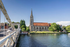 Marlow bridge Royalty Free Stock Photos