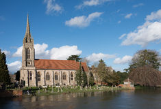 Marlow Church UK. Marlow Church, in Bucks UK Stock Photos