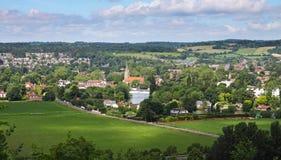 Marlow em Tamisa em Inglaterra imagem de stock royalty free