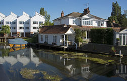 Marlow on the River Thames stock photography