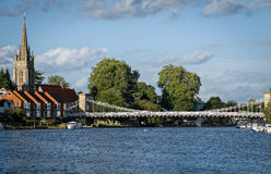 Marlow Town River Thames England Stock Photography