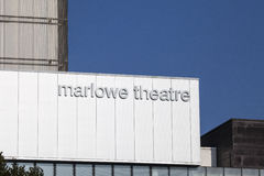 Marlowe Theatre in Canterbury Royalty Free Stock Photography