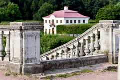 Marly παλάτι στον κήπο Peterhof, η Αγία Πετρούπολη, Στοκ φωτογραφίες με δικαίωμα ελεύθερης χρήσης