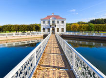 Marly Palace in Peterhof Royalty Free Stock Photo