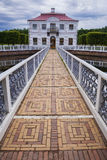 Marly Palace in Peterhof. St. Petersburg, Russia Stock Photography