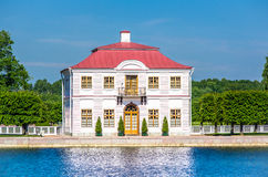 Marly palace in Peterhof Royalty Free Stock Images