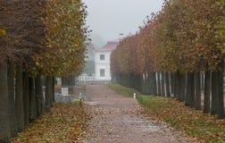marly russia för slottpeterhofpetersburg petrodvorets st peterhof Ryssland Fotografering för Bildbyråer
